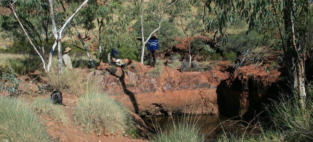 Waterhole in Yulluna Country