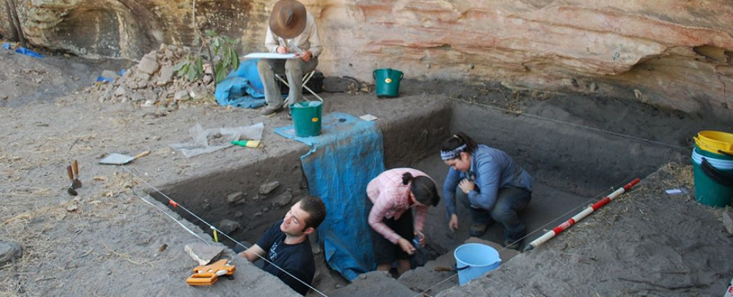 Excavation at Gledswood Shelter 1