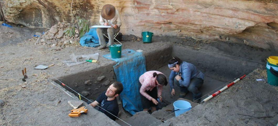 Excavation at Gledswood Shelter 1