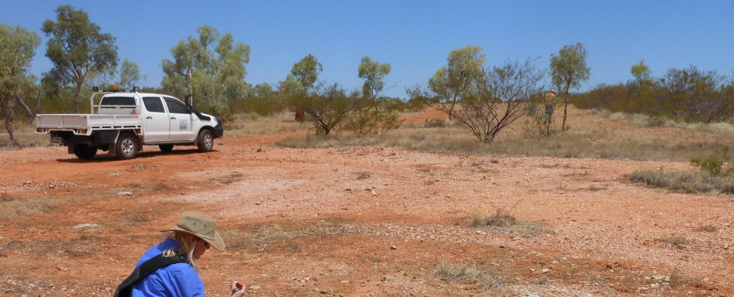 Surveying out in western Queensland