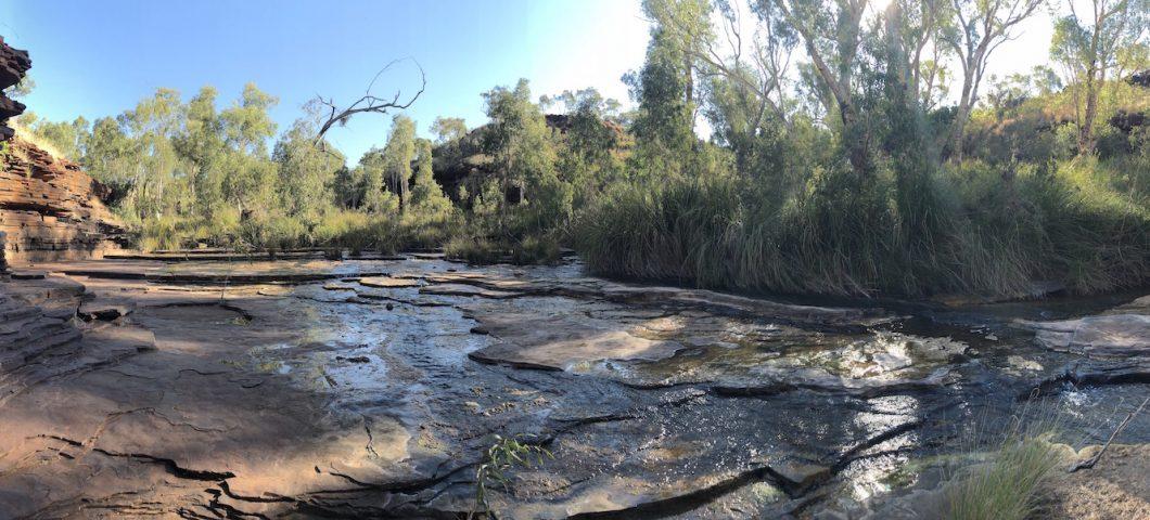 A gorge in Karijini National Park