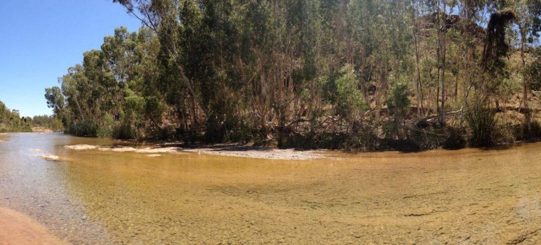 Lunch spot during fieldwork in the Pilbara, Western Australia