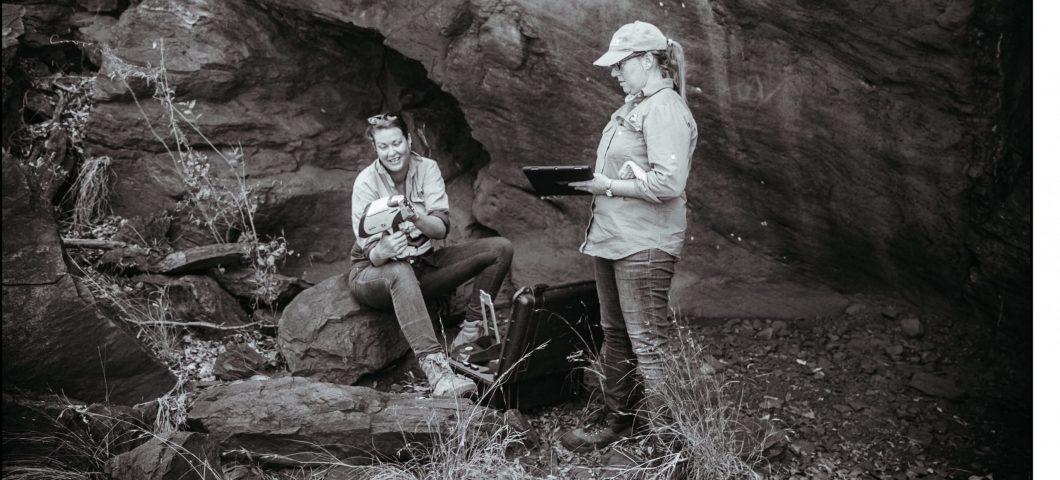 Jill Huntley and Lynley Wallis